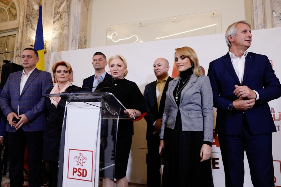 PSD după pierderea alegerilor prezidențiale