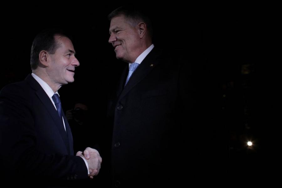 Klaus Iohannis, Ludovic Orban, prezidențiale