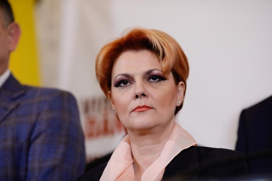 Lia Olguța Vasilescu, duminică, după alegeri