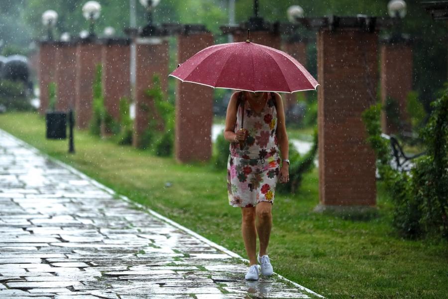 Ploaie Herăstrău