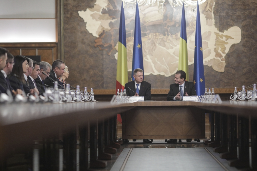 Guvernul Orban și Klaus Iohannis