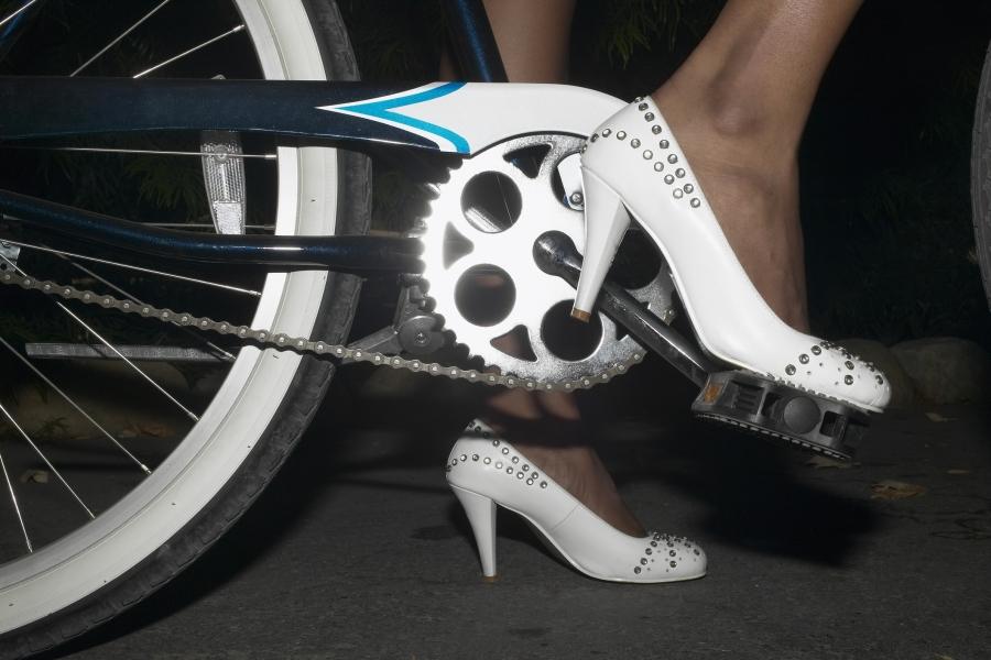 Pe tocuri pe bicicletă