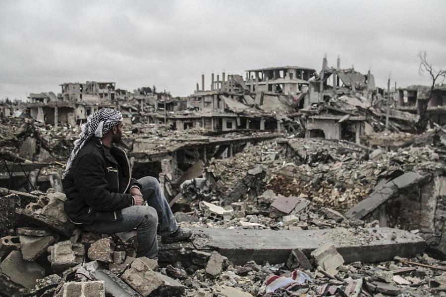 Imaginea dezastrului în Siria