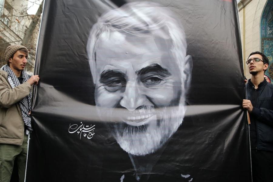 Protest Soleimani Iran