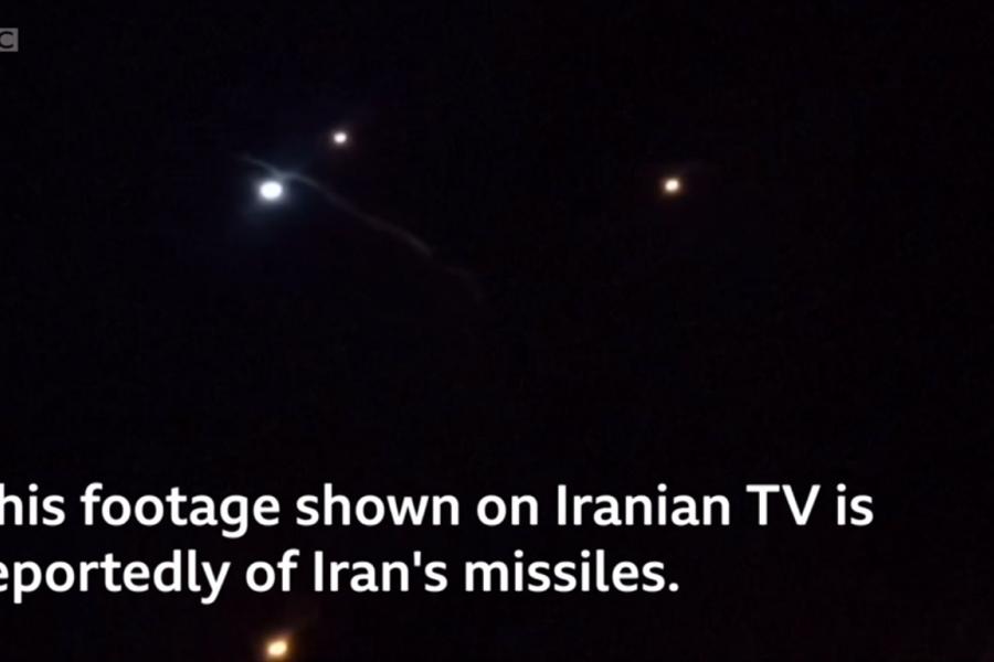 Atacul iranian