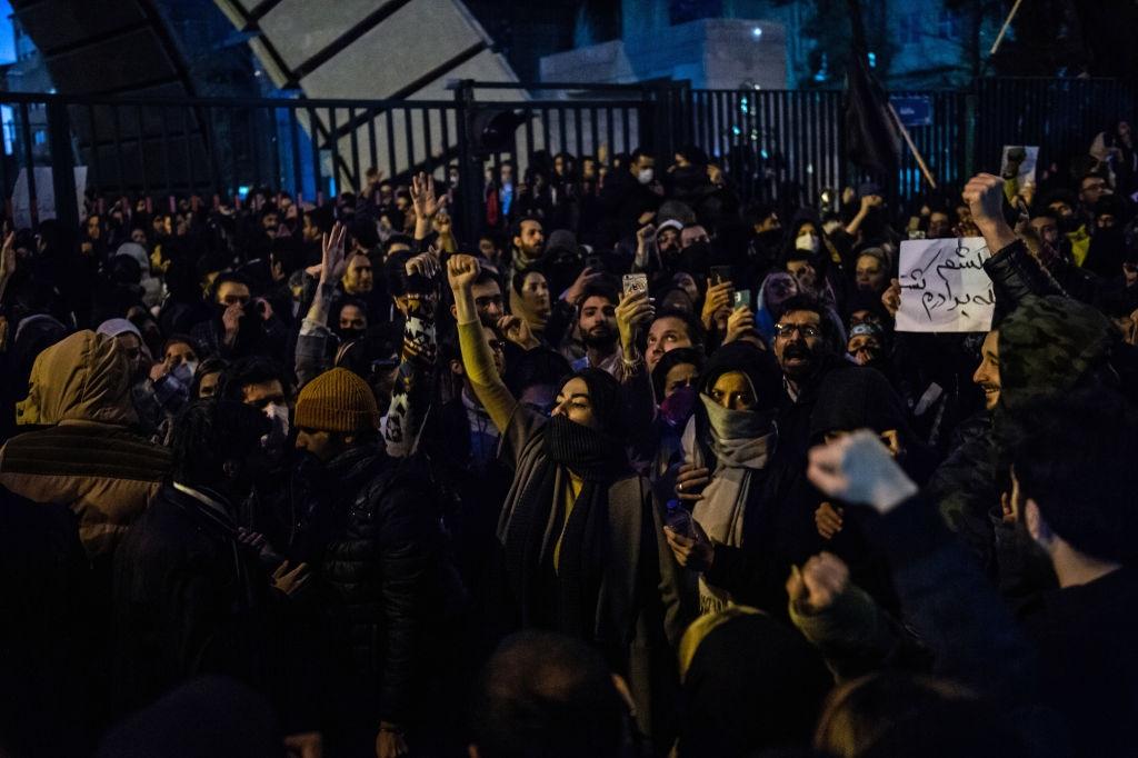 Proteste la Teheran