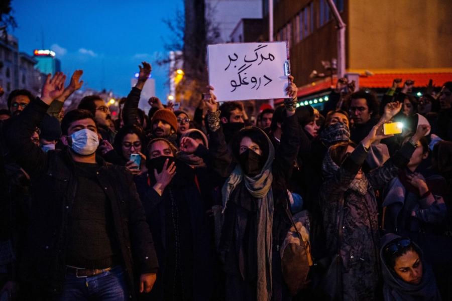 Iran pe strada