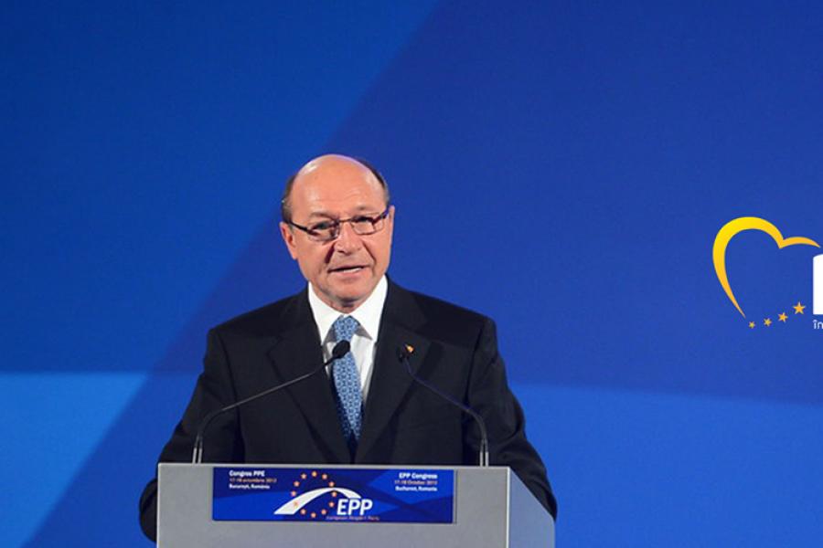 Traian Basescu - Foto Facebook Traian Basescu