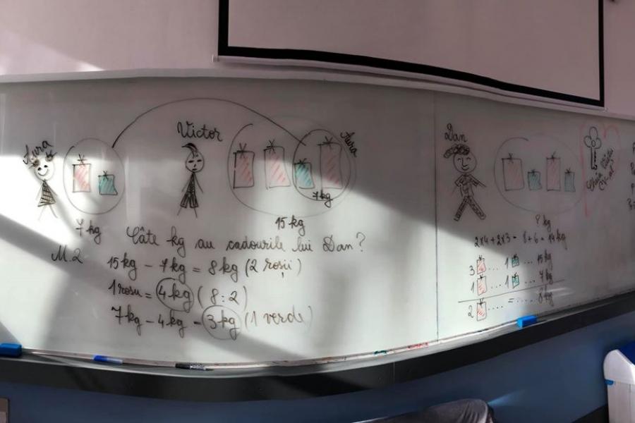 Lecție de matematică