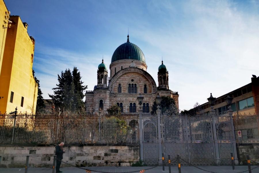 sinagoga Florenta - Foto Sorina Stallard