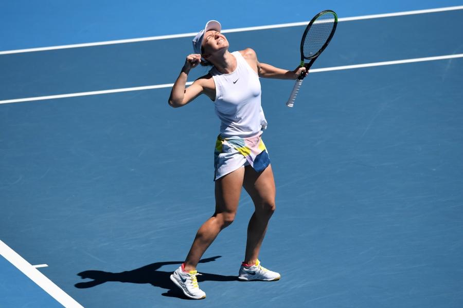 Simona Halep, în semifinale la AO