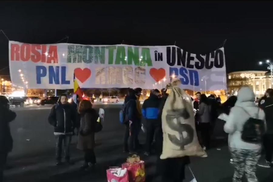 Protest Rosia Montana - 30 ianuarie