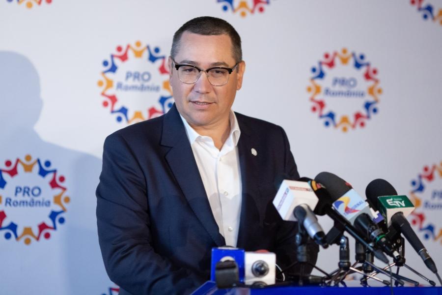 Victor Ponta, Pro Romania