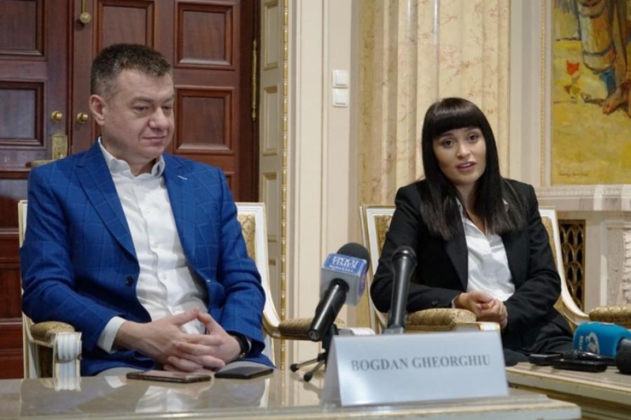 Irina Rimes - Bogdan Gheorghiu - Foto Facebook/Ministerul Culturii