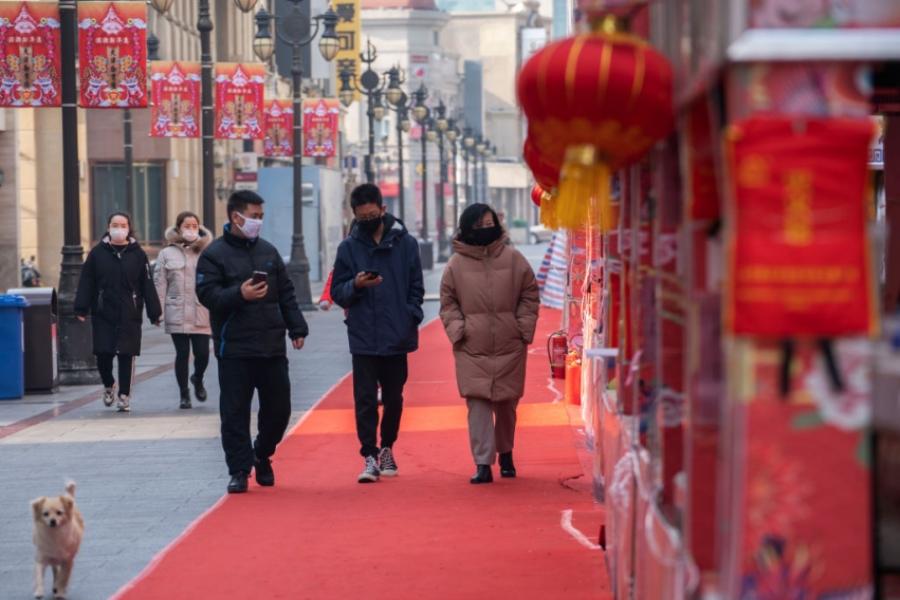 china - coronavirus - strada