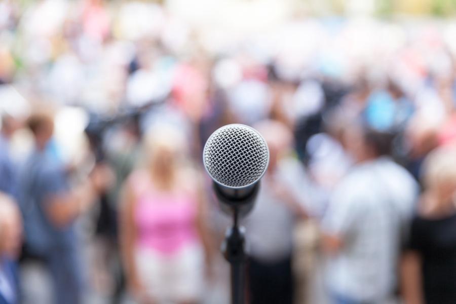 public speaking -