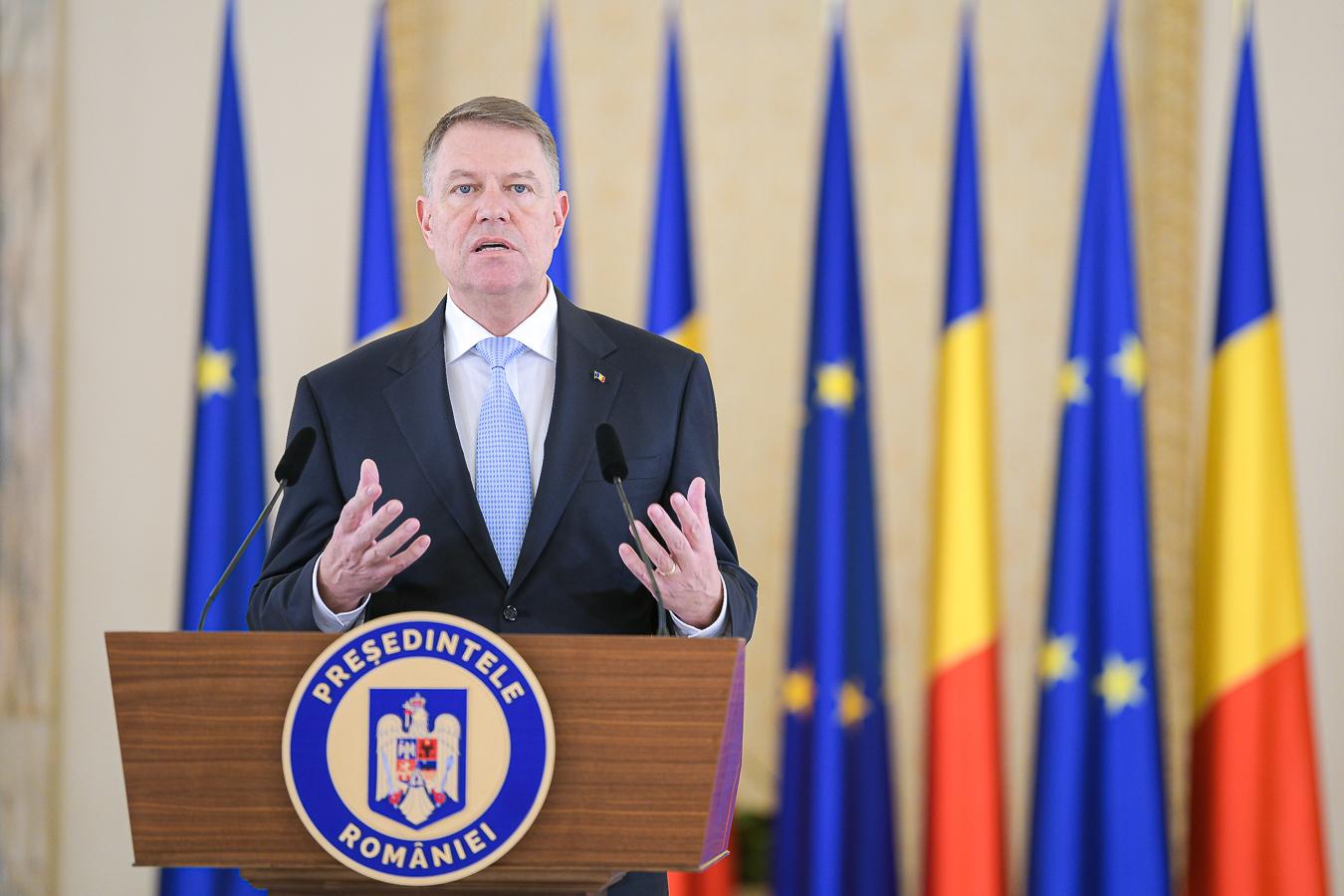 Klaus Iohannis l-a desemnat premier pe Florin Cîțu