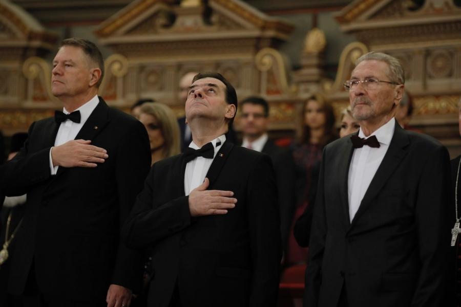 Iohannis - Orban