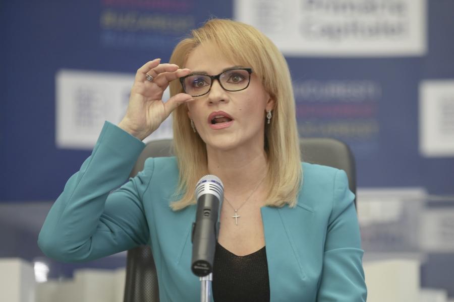 Gabriela Firea - ochelari - Foto Inquam Photos / Alexandru Busca