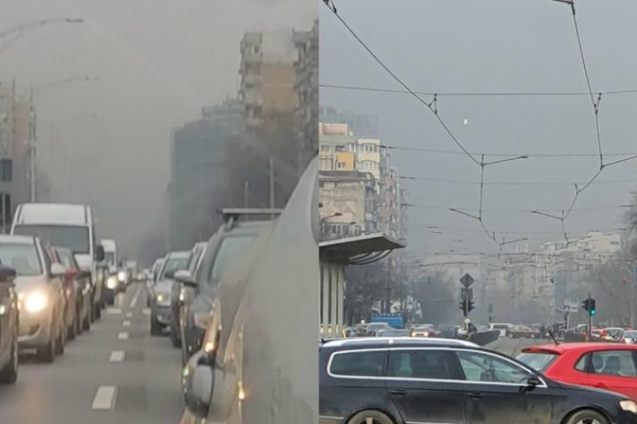 Poluare în București