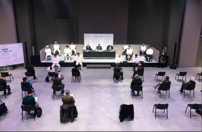conferinta tenis Italia - Coreea