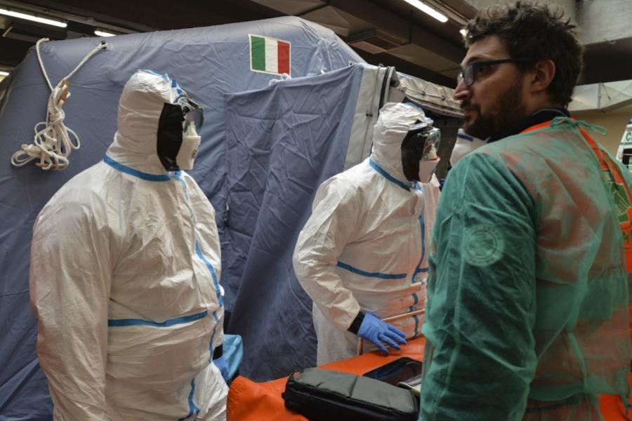 Spital coronavirus Italia
