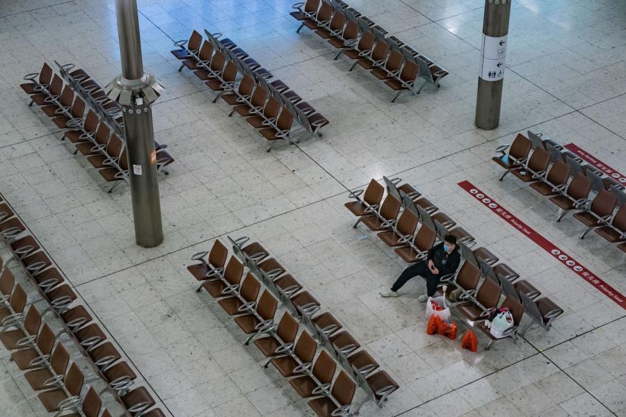 Aeroport coronavirus