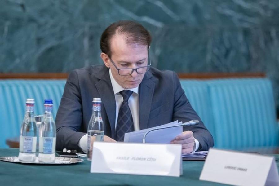 Florin Cîțu - Foto Facebook / Ministerul Finanțelor Publice
