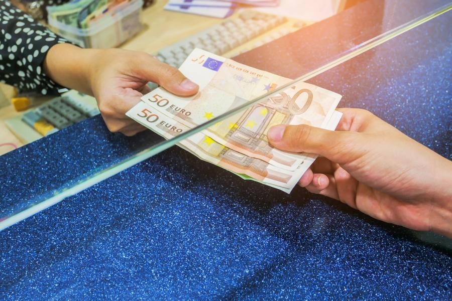 Rată euro bancă