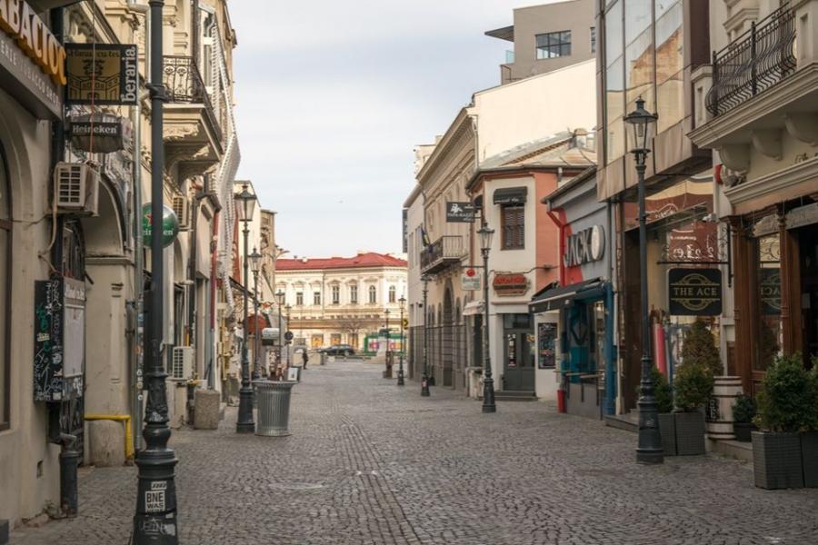 București, oraș fantomă