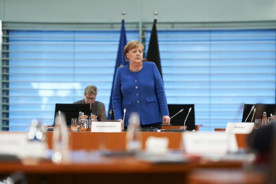Merkel - COVID