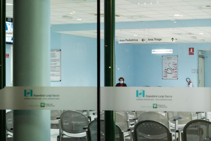 coronavirus - spital - Italia