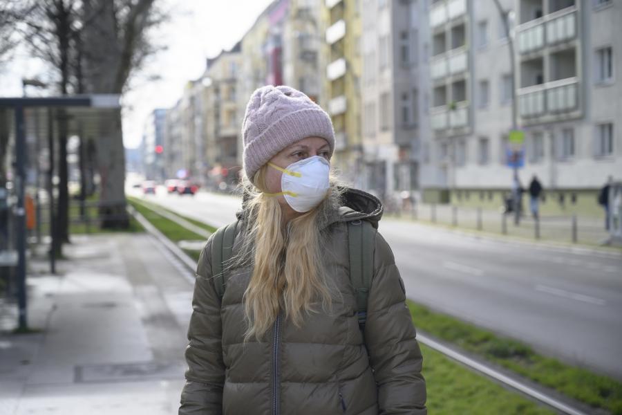coronavirus - masca