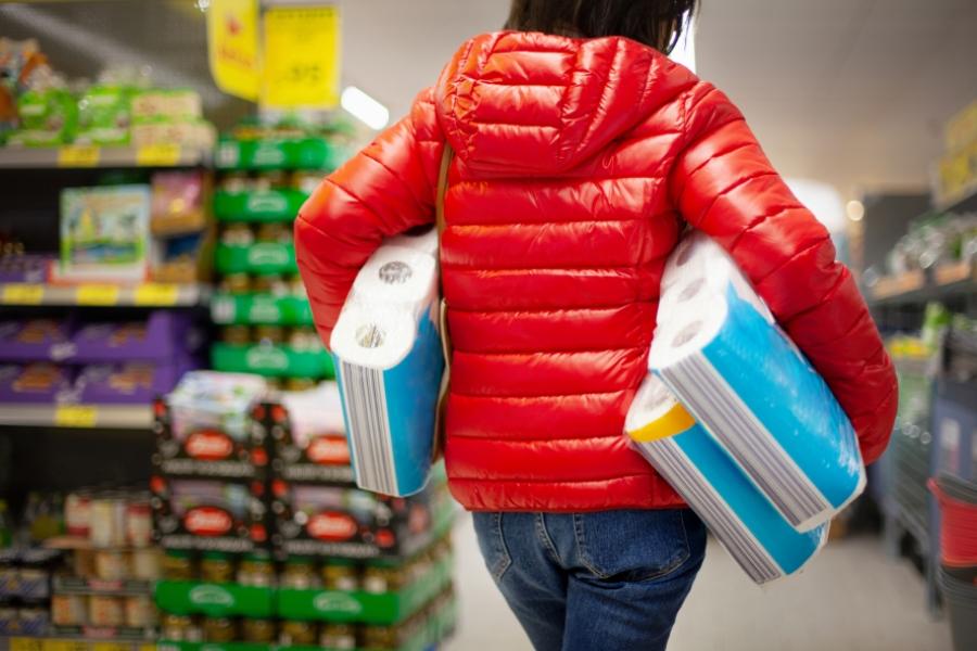 shopping coronavirus