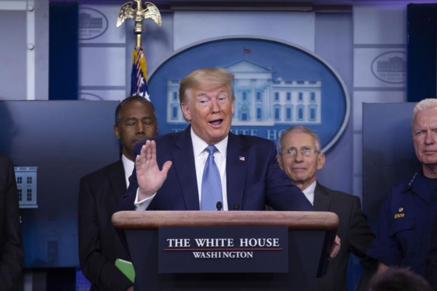 Donald Trump - coronavirus