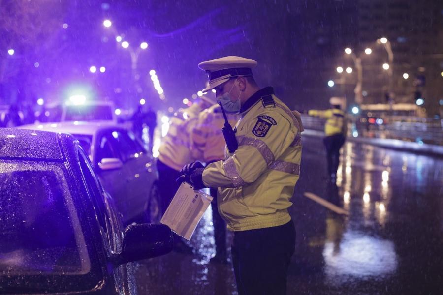 Izolare socială verificări Poliție