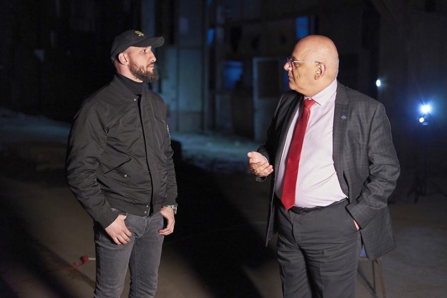 Ștefan Madachi - Raed Arafat