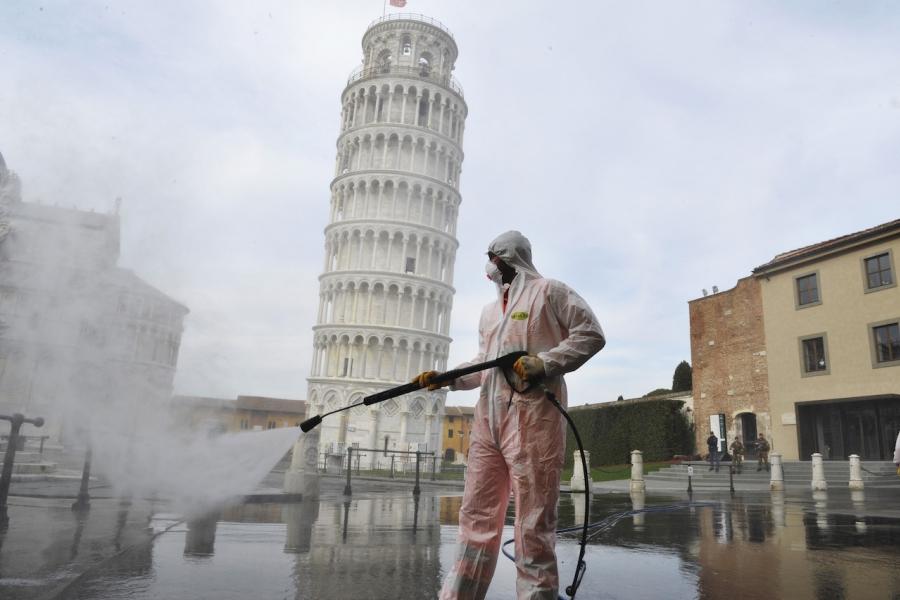 Pisa coronavirus