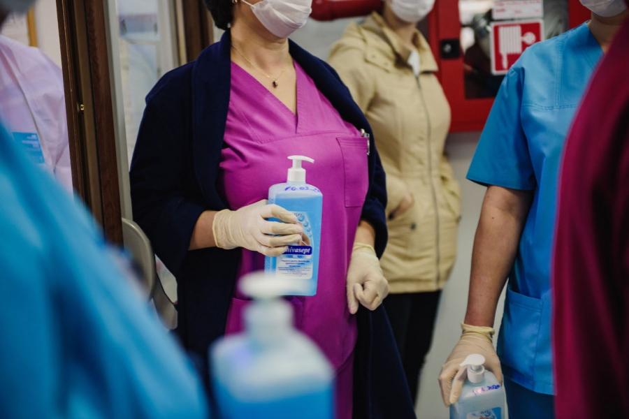 Spitale dezinfectanți covid-19