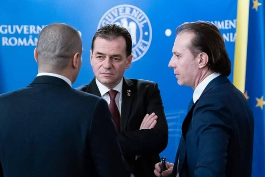 Florin Cîțu - Ludovic Orban - Foto FB Ministerul Finantelor