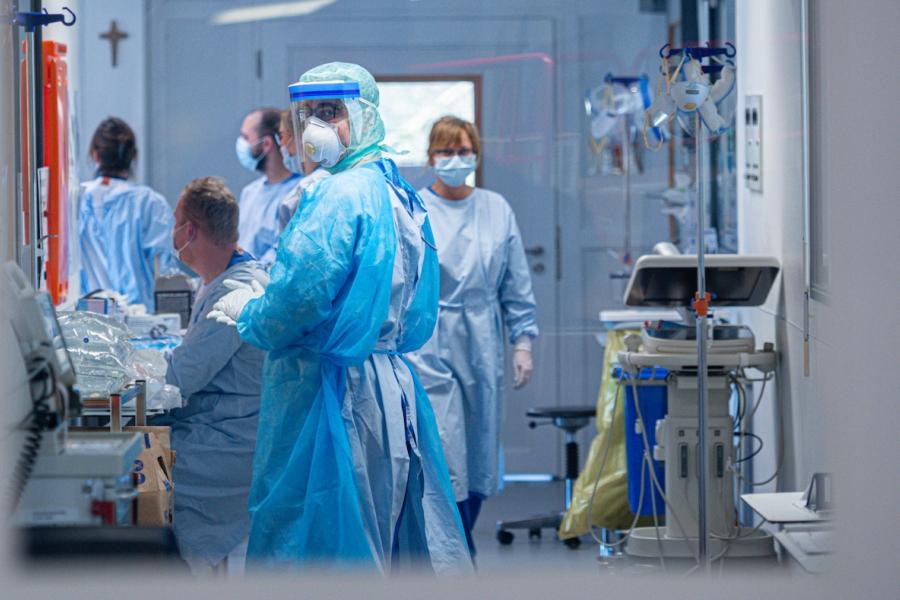 Spital Germania covid-19