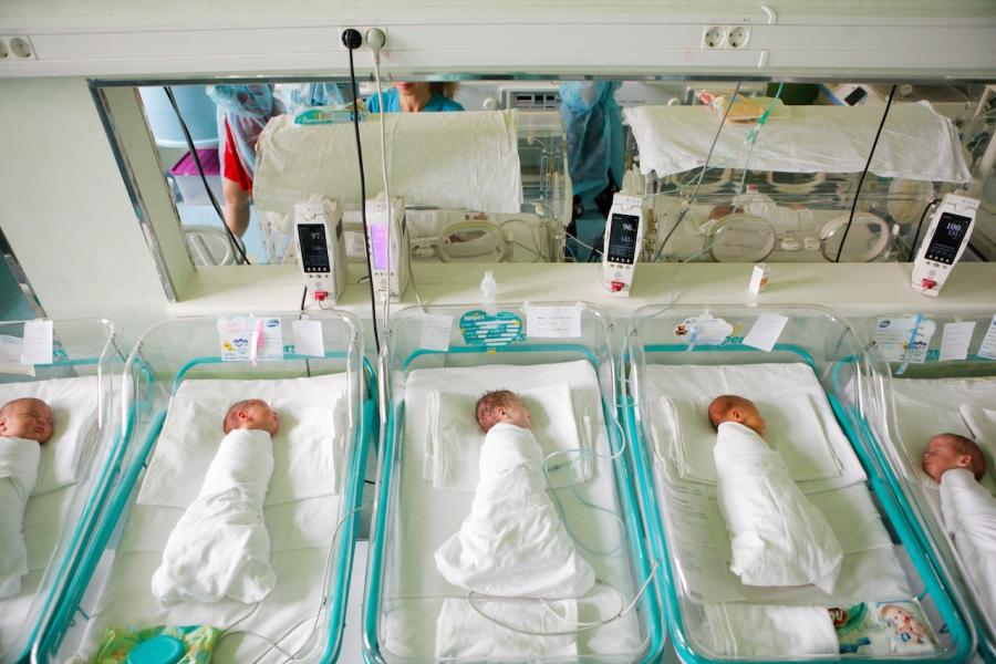 Maternitatea Giulești, nașteri