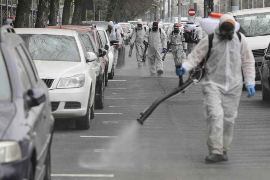 Dezinfectie in Bucuresti