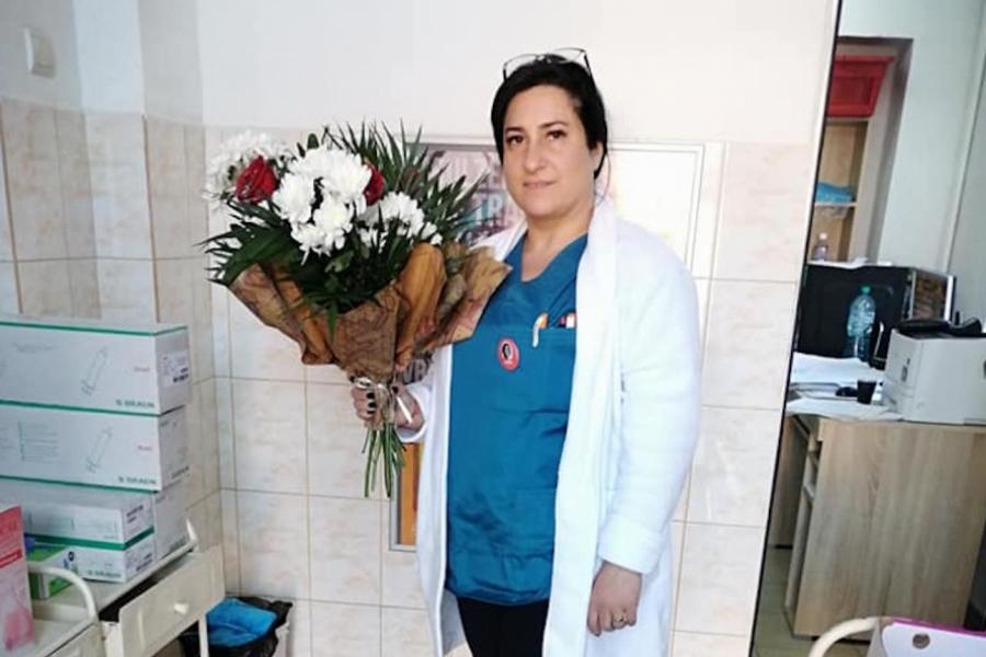 Mihaela Moga Pal, asistentă Galați
