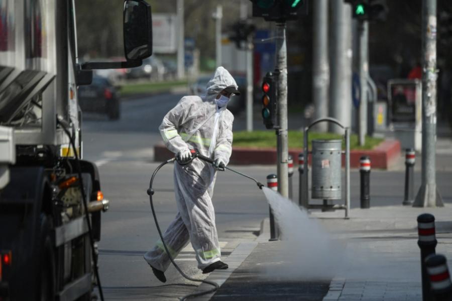 coronavirus in romania - strada - Foto Daniel MIHAILESCU / AFP / Profimedia
