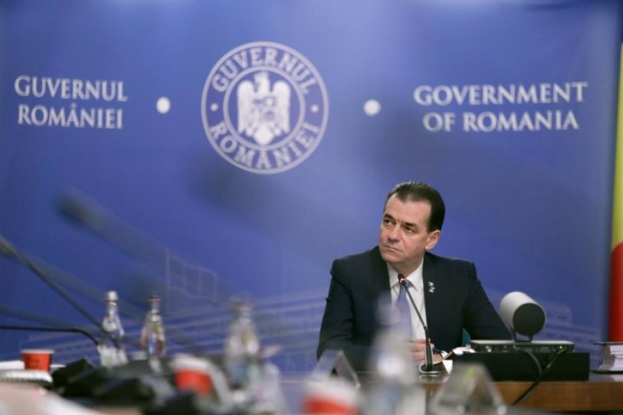 Ludovic Orban - 9 aprilie - gov.ro