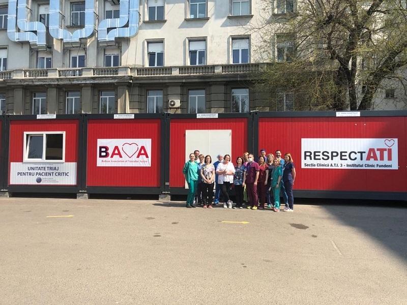 RESPECTATI - spital modular - Foto Institutul Fundeni