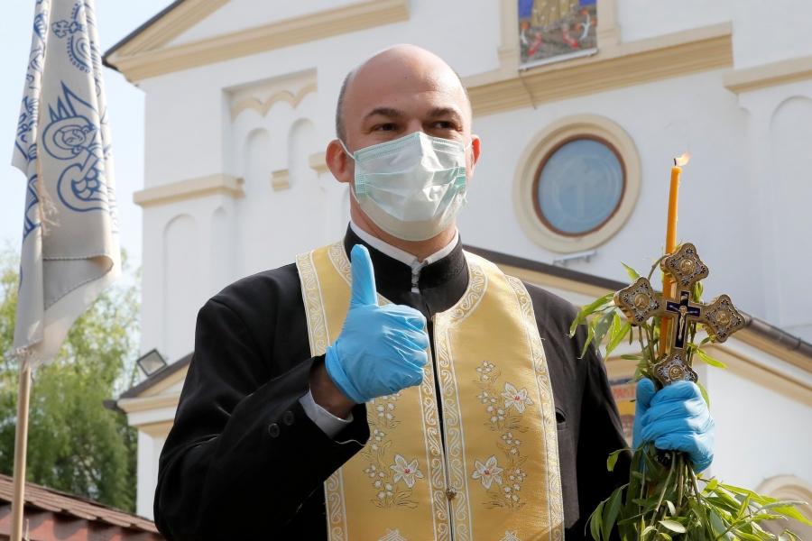 Preot în vremea coronavirusului