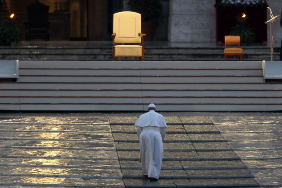 Papa Francisc Paști covid