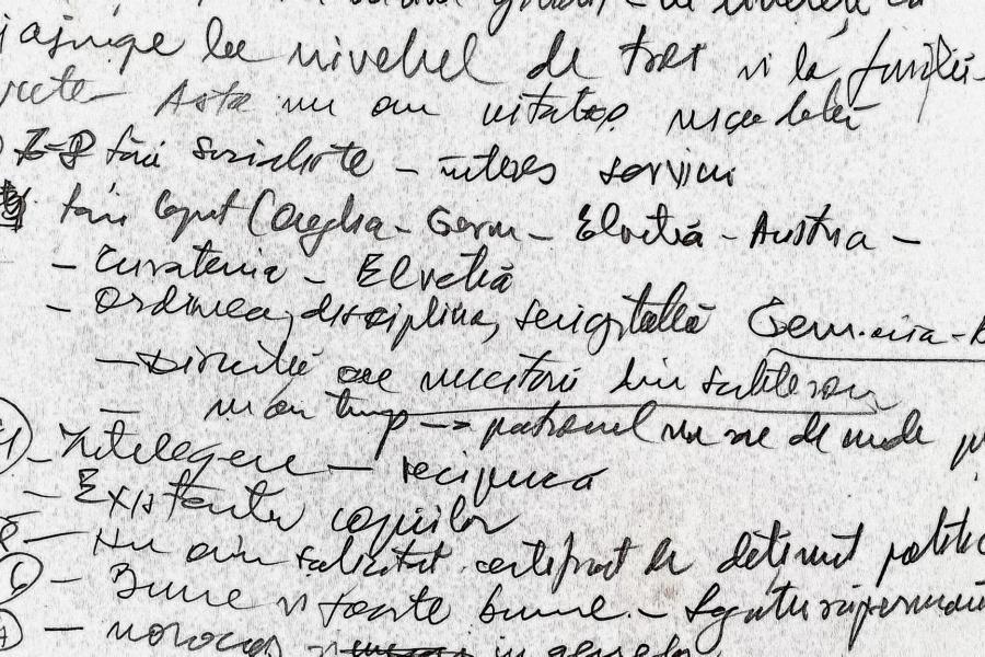 Scris de mână